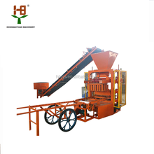 road paving block machine small block machine QTJ4-26 brick making industries low investment business