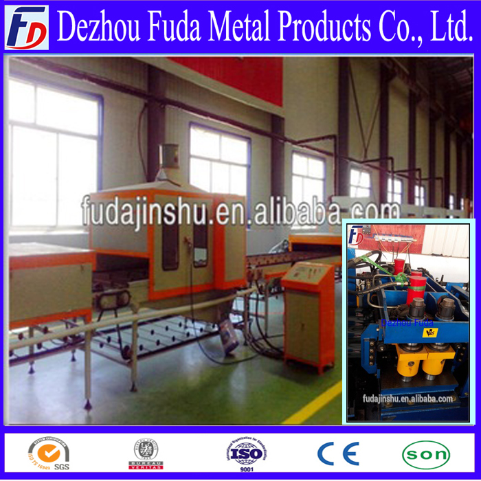 stone coated roof tile making machine/ working line