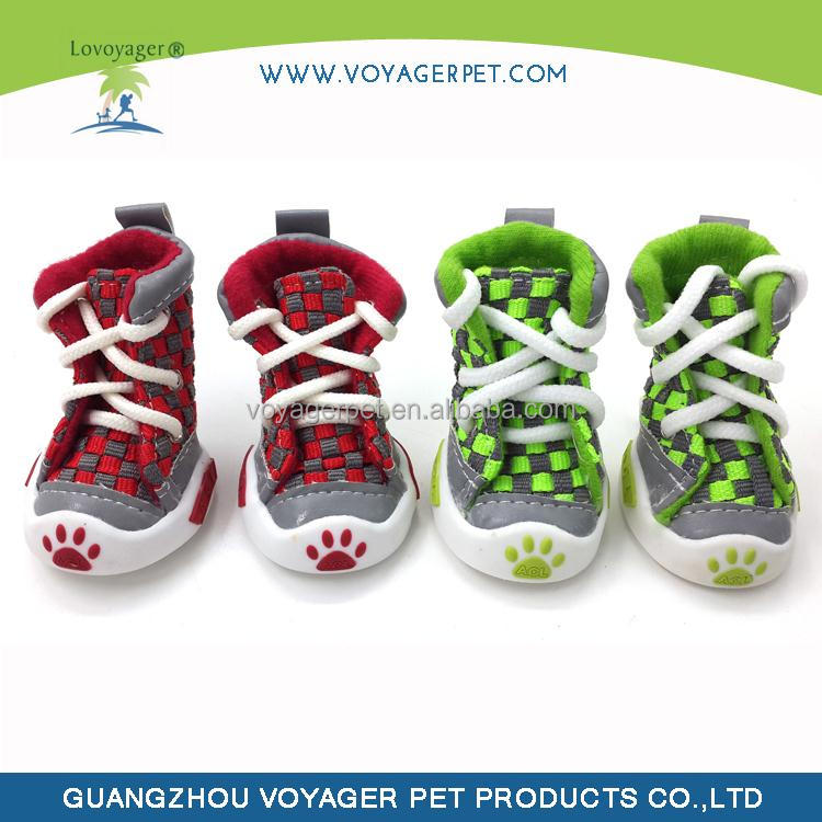 Lovoyager Hot selling supplies dog sneaker boots with OEM