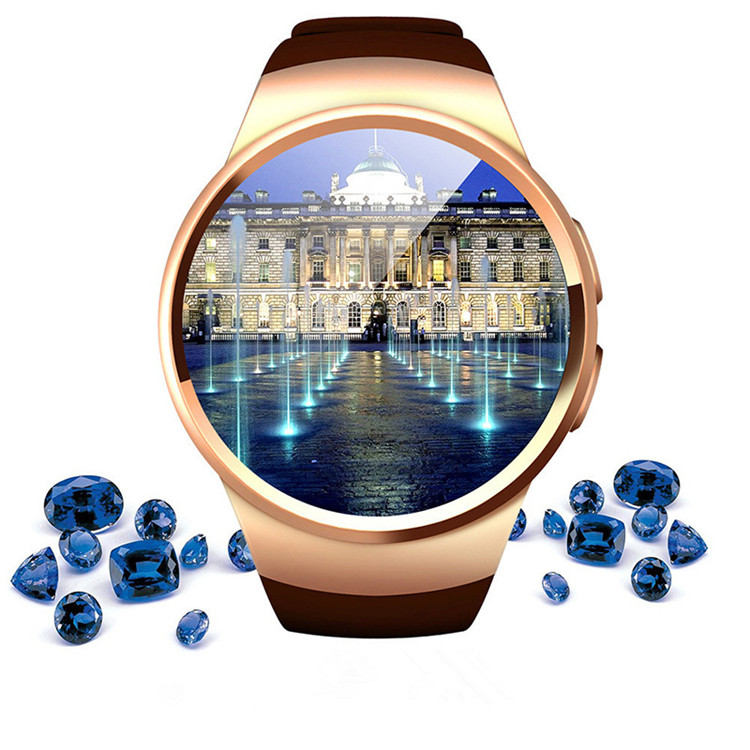 2018 wholesales KW18 Smart Watches HD IPS Screen Card Heart Rate manufacturers women men watches sport smart Phone watch