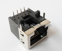 Factory Good Quality Network Use Telecome Modular Shielded RJ45 90 Degrees