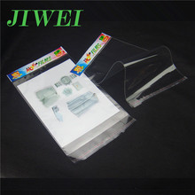 Wholesale Hanging Self Sealing Adhesive Custom Printed Cellophane Bags
