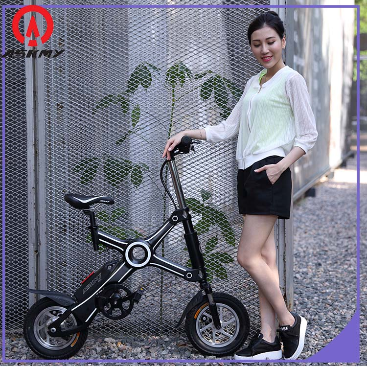 CE Small Folding Electric Bicycle Panasonic Foldable elcctric bike folding electric bike for adults