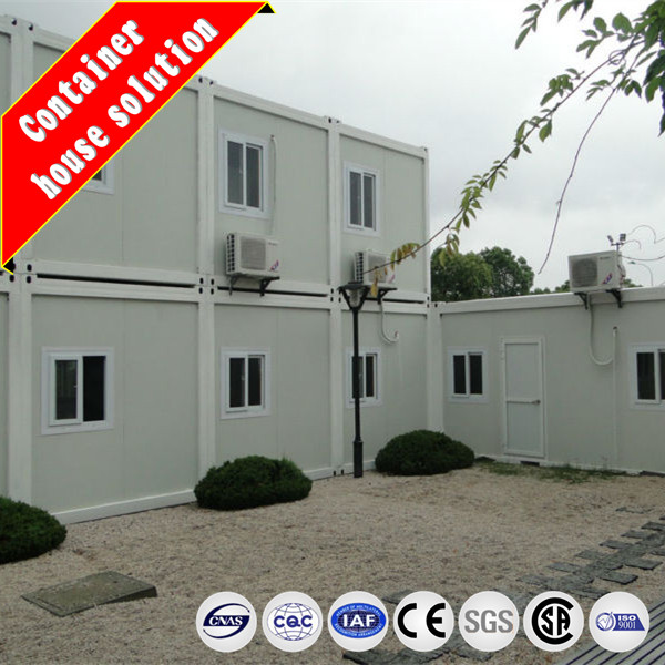 Two layer modular house light steel prefab house