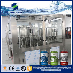 Automatic 2-in-1 Cans Fillng Machine for Beverage Juice