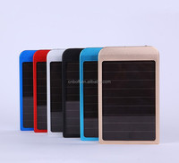 Solar charger for Apple for Samsung mobile power emergency charging solar charger