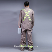 Hi vis reflective overalls /working coverall safety clothing wholesale