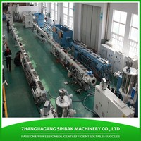 China made large dia 8 inch pvc irrigation pipe making machinery upvc pipe production line