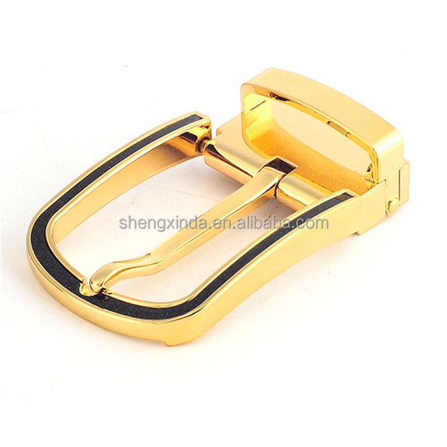 2015 new fashion types of custom logo metal belt buckles