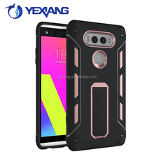 Shockproof Dual Layer Armor Hybrid Protective Case For LG V20 with kickstand holder cover