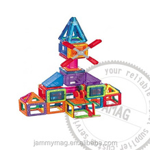 Diy toys magnetic building blocks set , magnetic building tiles