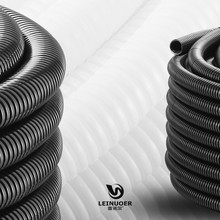 Leinuoer PA plastic flexible electrical corrugated pipe wire protection