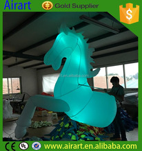 lighting china top brand inflatable roadshow horse, inflatable horse costumes