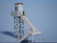 Prefabricated Watch Tower - Guard Towers