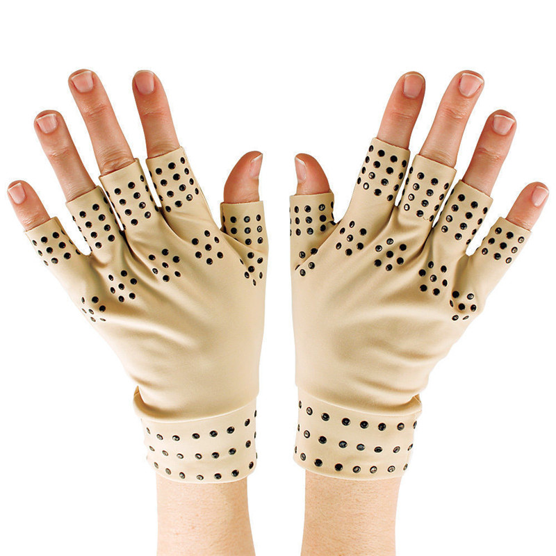 Magnetic Therapy Support Gloves Arthritis Pressure relief pain heal joints gloves