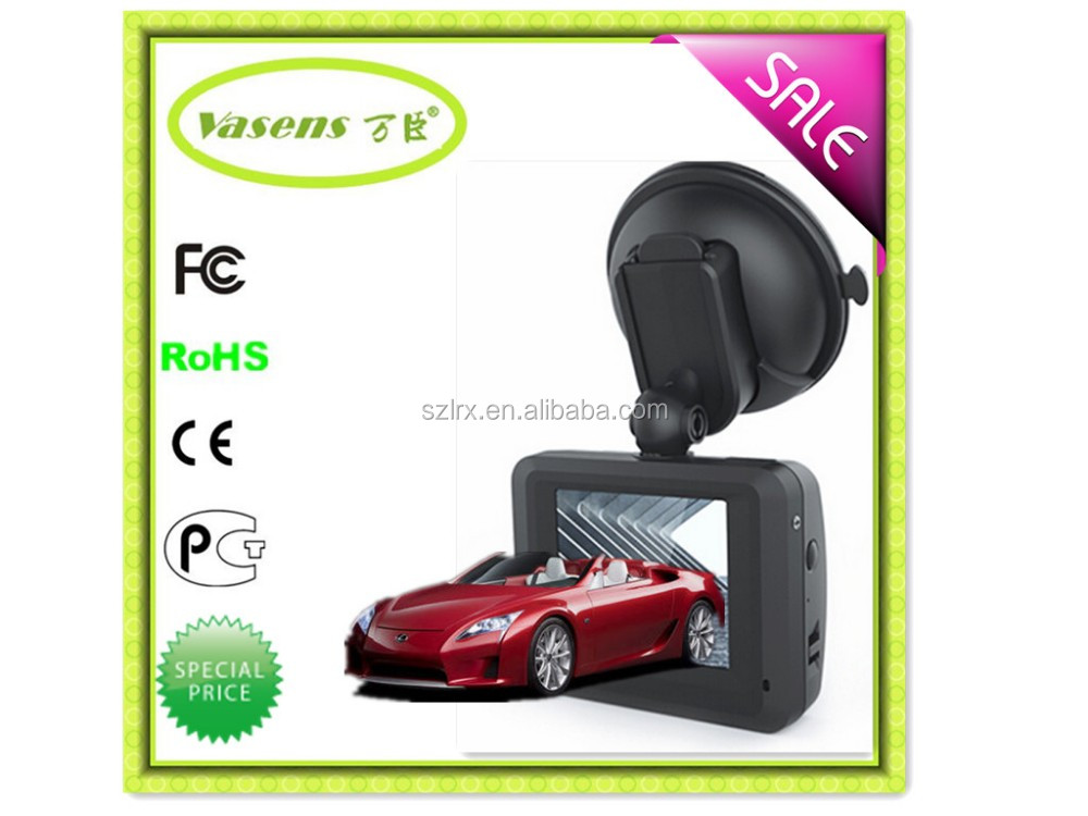 Cheapest price General Plus chipset 1.8 inch screen car camera 120 degree wide angle VGA fhd car dvr