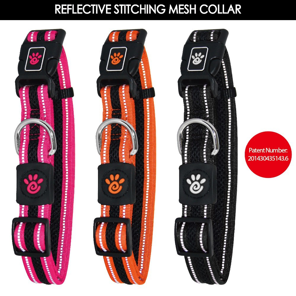 Reflective Air Mesh Collar for Dog