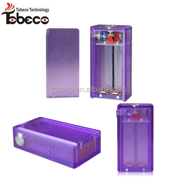 Tobeco crazy selling ABS box mod colorful beast ABS clear box mod 18650 box mod in stock