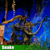 Zoo decoration Life Size Robot animal Movement snake
