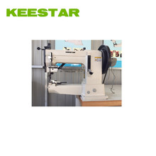 Keestar 205 walking foot and needle feed cylinder bed harness sewing machine