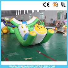 inflatable water park,flating totter,inflatable seesaw
