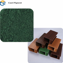 construction coating pigment green iron oxide 5650 for wood plastic composite WPC colorant