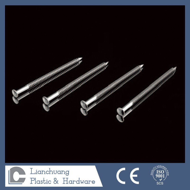stainless steel annular thread ring shank nails