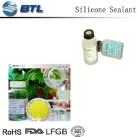 Two component LED potting liquid silicone rubber