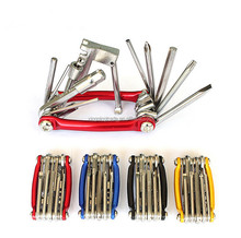 Multi Bike Repairing Tool Portable Bicycle Mini Combination Tool Set Bike Disassemble Kit Repairing Equipment