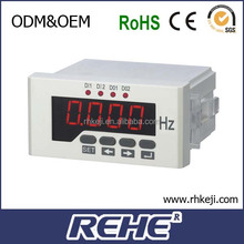 digital panel meter LED display single phase frequency meter Hz meter rs-485 modbus