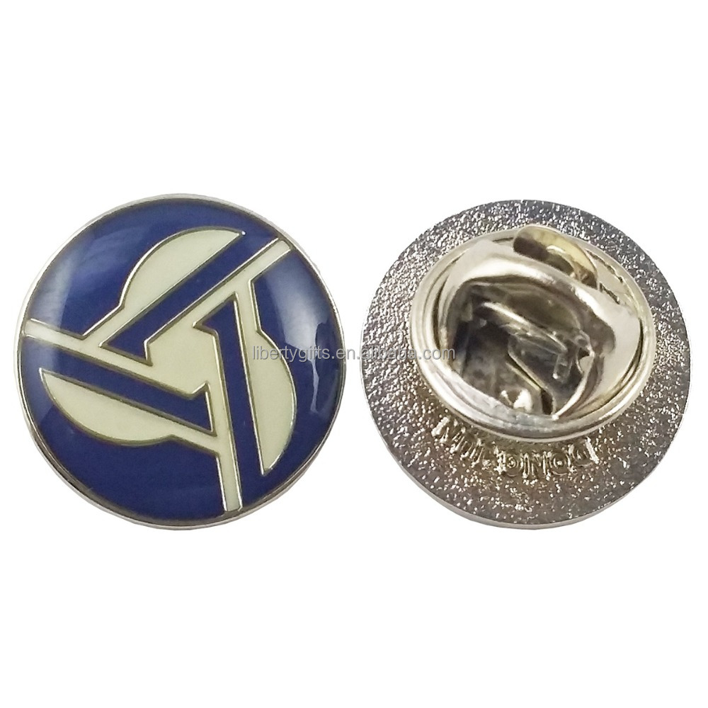 metal soft enamel with epoxy lapel pin