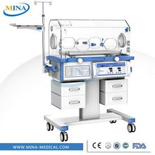 MINA-I002 Cheap Hospital Isolette Baby Infant Incubator price, Medical NICU incubators manufacturer
