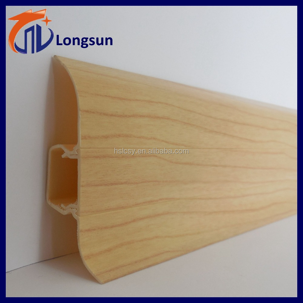 Low cost kitchen cabinet skirting board/pvc plinth