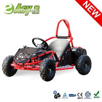 2015 new 1000w 36v 4 wheel 4 seater go kart with double suspension past CE certificate