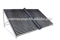 Economic and Reliable 18Tube Solar Collector In Energy non-pressure direct water flow project solar collector