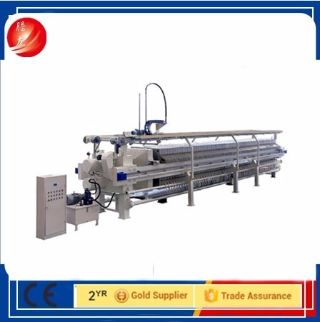 auto filter press for water treatment plant chemical used