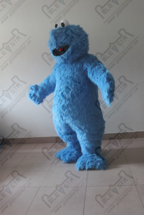 newest cookie monster mascot costume NO.1763