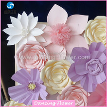 Christmas amazing paper flowers wall backdrops