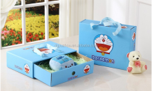 Doraemon corrugated boxes for holiday gift box and joyful box receive a case wholesale handbags birthday package