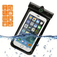 E022 New Products Waterproof Mobile Phone Case, Waterproof Bag With Compass For Cell Phone
