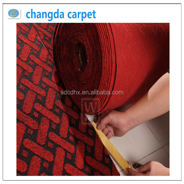 needle felt carpet polyester jacquard carpet 450g 500g 550g