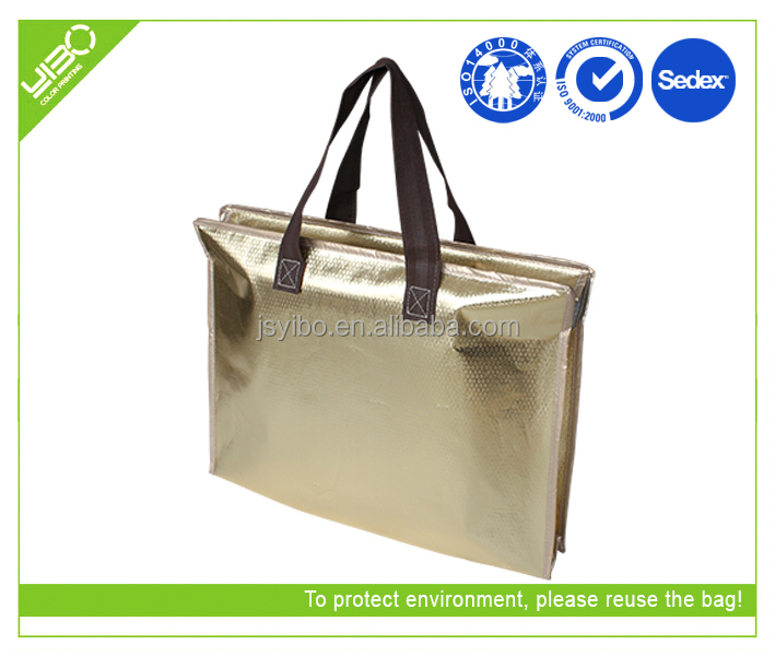 cheap non woven bag lady tote shopping bag/laminated non woven bag 3.14