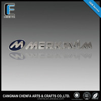 2015 new style hot products 3D adhesive chrome emblem for car