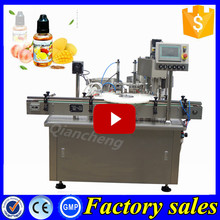 Brand new technology 30ml ecig oil filler and capper, e-cig bottling packing machine