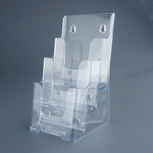 High quality desktop acrylic magazine display stand brochure holder