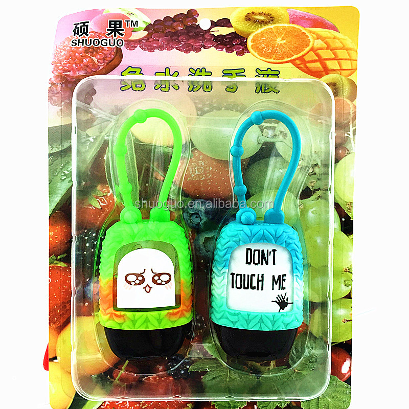 Business Gift Use and Animal Theme bbw 3d animal silicone hand sanitizer holder