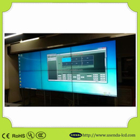 Seamless video splicing display 42inch video wall with Samsung Full HD LCD Panel lcd video display to advertise in retail stores