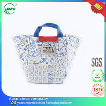 Non woven pearl cotton food delivery thermal lunch bags insulated