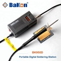 55W portable BK950D soldering station for students using