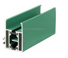 square alloy Alcan Aluminium supplier co-extruded pvc window profiles